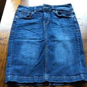Kenzie Jeans Size 27 Denim Skirt